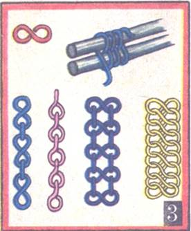 Плетений цепочек своими руками